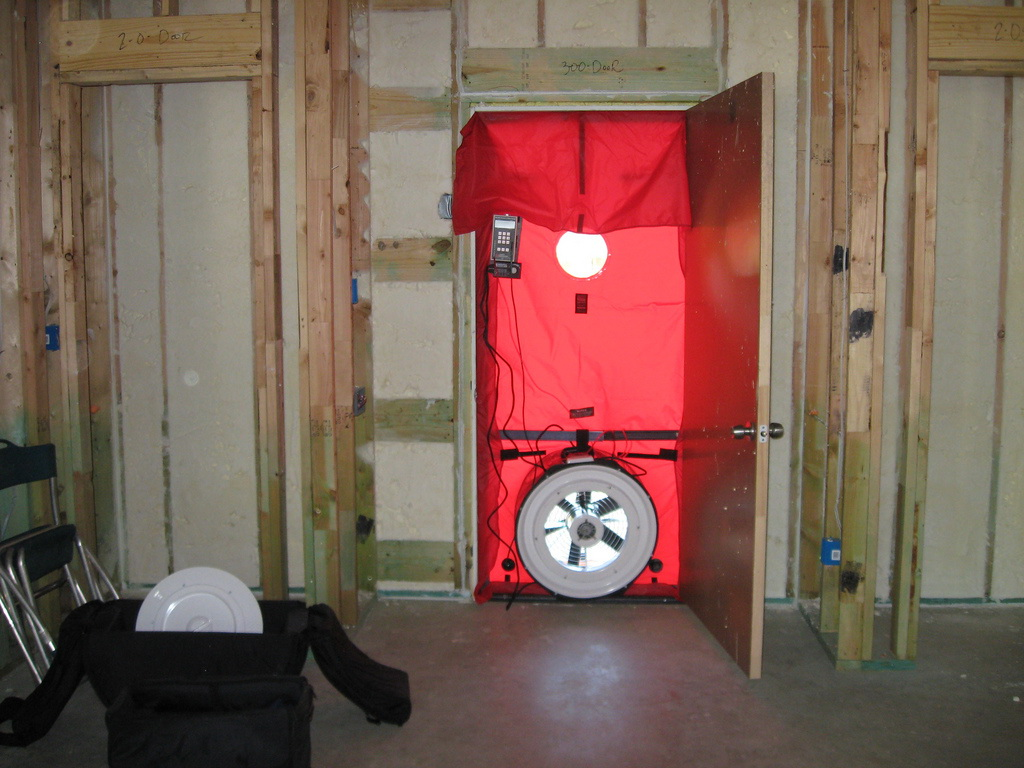 Blower Door Testing 101