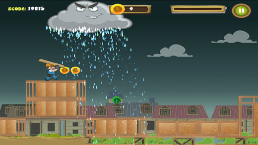 Norbord Builder Dash Game Bad Weather Screen