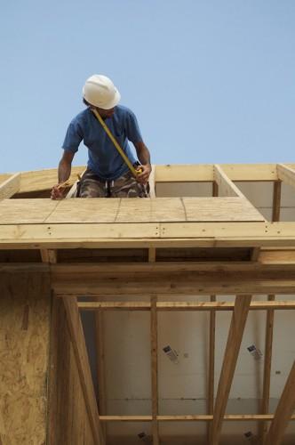 Installing OSB on roof